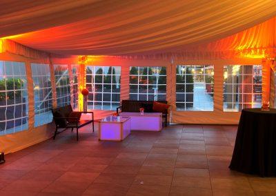 Tent Up lighting